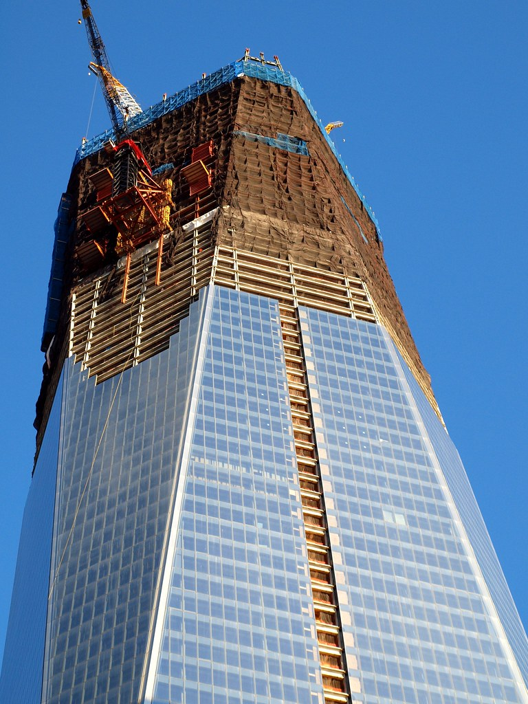 One World Trade Center Construction Site New York City