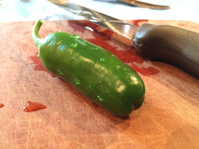 Very first jalapeno
