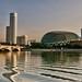 The Esplanade at dawn - Singapore