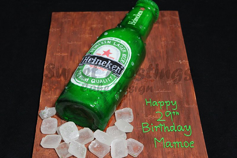 Heineken Cake Design
