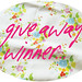 Blog birthday give away winner
