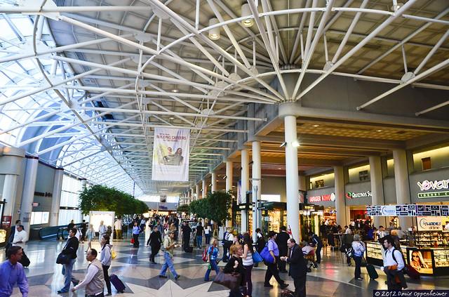 Charlotte Douglas International Airport Terminal Flickr