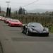 Line of Ferraris
