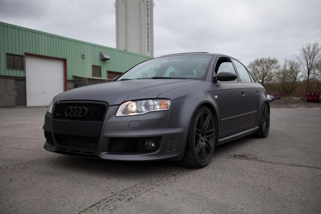 Audi Rs4 Matte Grey 3m Audi Rs4 Matte Grey 3m Www