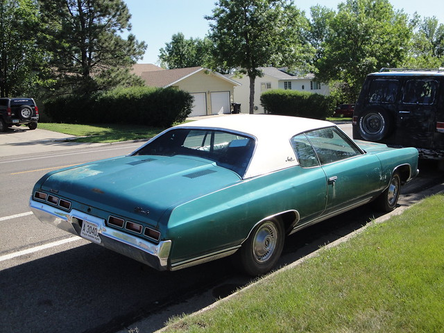 71 Chevrolet Impala Custom Bismark North Dakota June