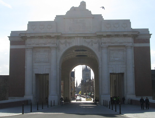 Menin Gate, Ypres from the east