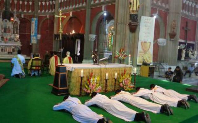 Ordenaciones sacerdotales en Paquistán