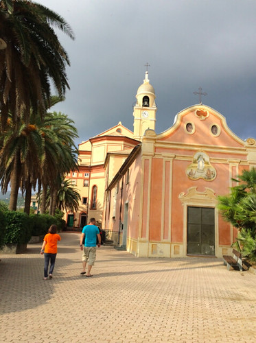 church in cogoleto genoa coast
