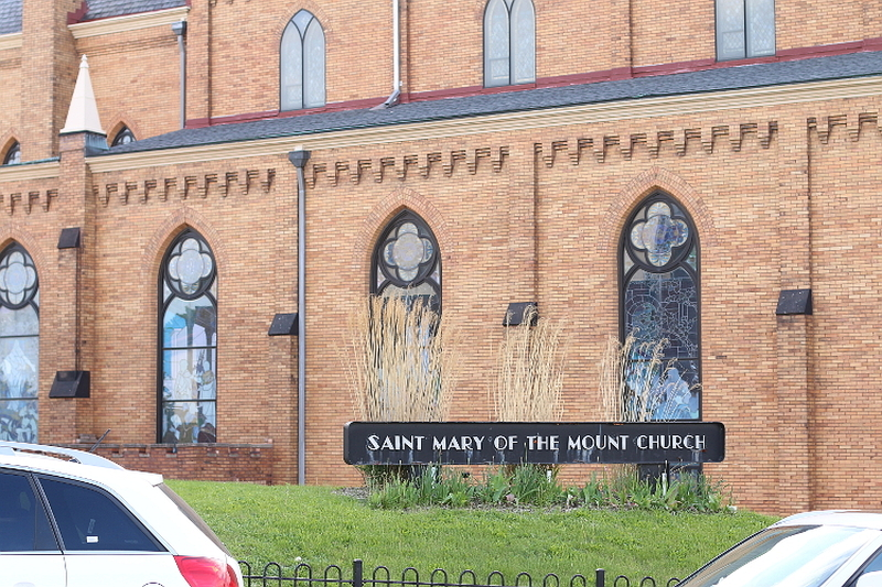 Mount Washington, Pittsburgh, overlook, grand view, travel, visit, Saint Mary of the mount church