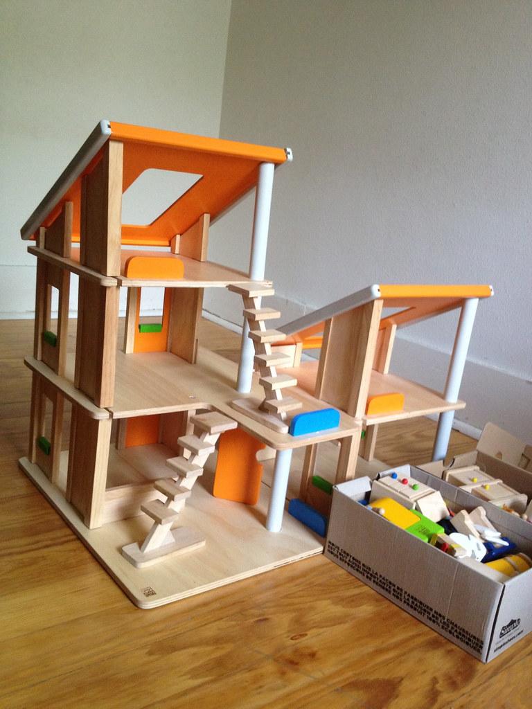 plan toys chalet dollhouse  sbe  flickr -