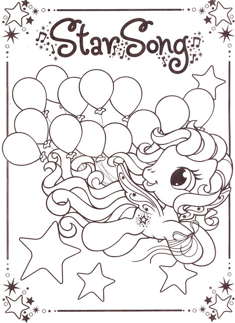My Little Pony Coloring Pages 4