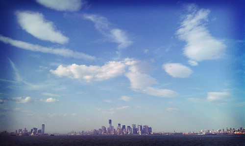 NJ, Manhattan, and Brooklyn from the Staten Island Ferry | by @tdavidson