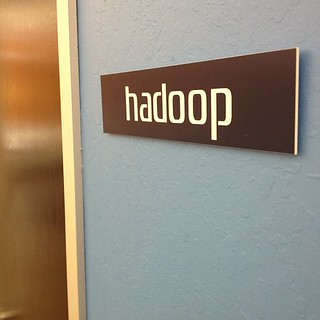 I love startups that name their conference rooms Hadoop. I am at @cloudera thinking about big data. | by Robert Scoble