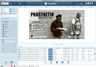 Prosthetik Intelligentz featured on FrostWire | by frostwire.com
