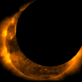 Hinode Witnesses Solar Eclipse (NASA, Hinode, 05/20/12) | by NASA's Marshall Space Flight Center
