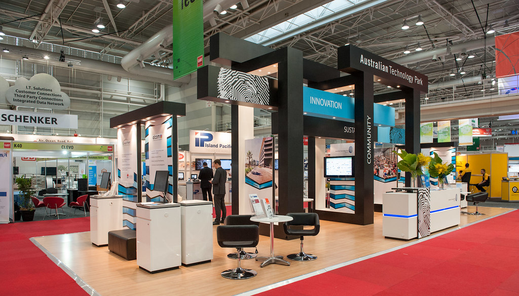 Expo Stands Australia : Cebit pre show stands australian technology park