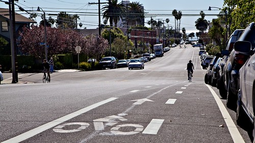 Bicknell Buffered Bike Lane | by Gary Rides Bikes