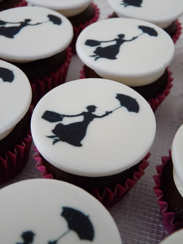 mary poppins cupcakes I | by bakeeatrepeat