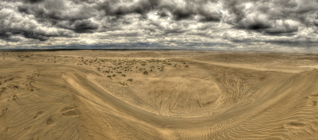 Christmas Valley Sand Dunes Photo Of Ohv Trails At