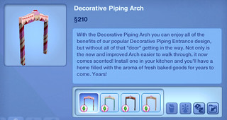Decorative Piping Arch | by SimsVIP