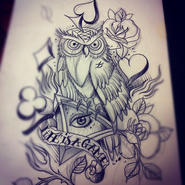 Gallery For gt Illuminati Owl Tattoo Designs