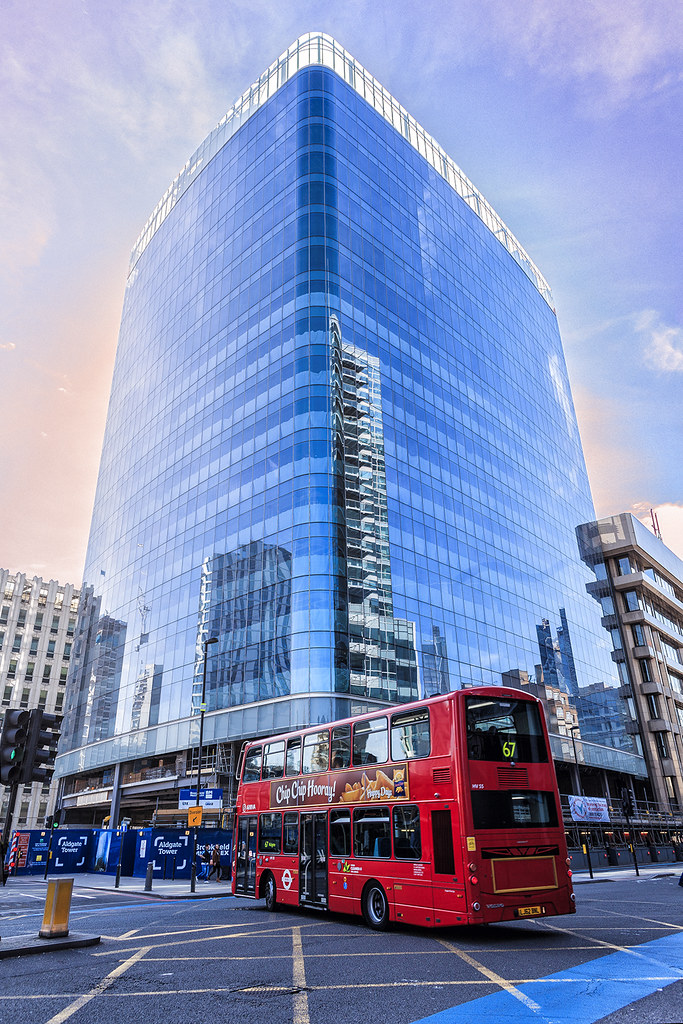 East London: Aldgate Tower Is A Brand New