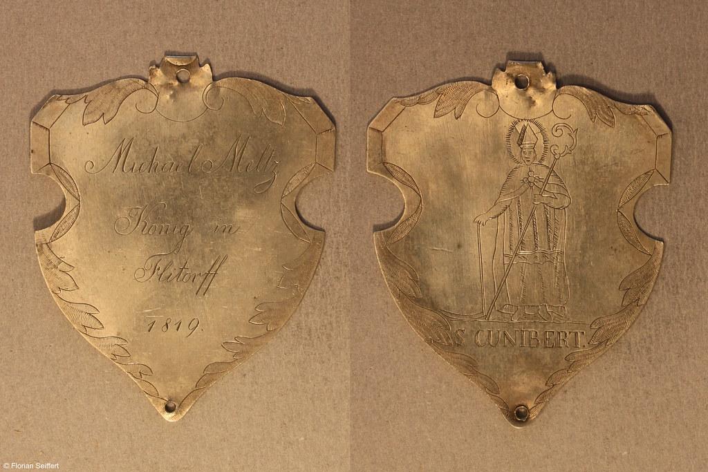 Koenigsschild Flittard von meltz michael aus dem Jahr 1819