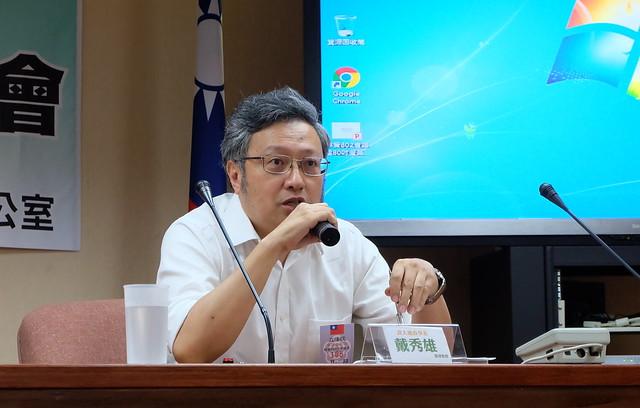 政治大學地政系助理教授戴秀雄 攝影:陳文姿