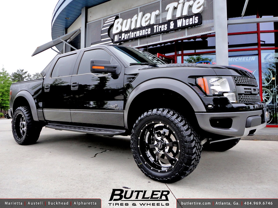 Ford F-150 SVT Raptor with 22in BMF Novakane Wheels, 35in ...