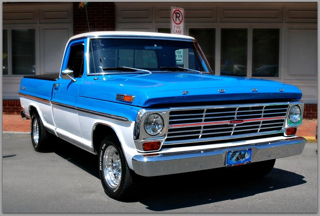 1969 ford ranger f 100 blu