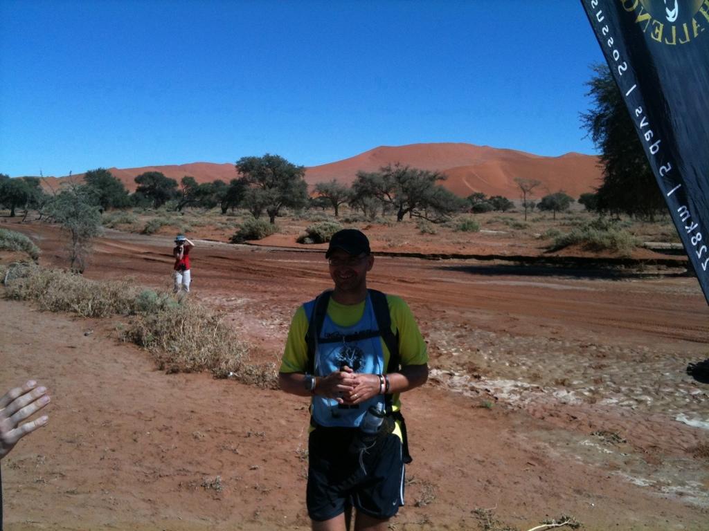 Namib Desert Challenge 2012 Zieleinlauf Tag 5