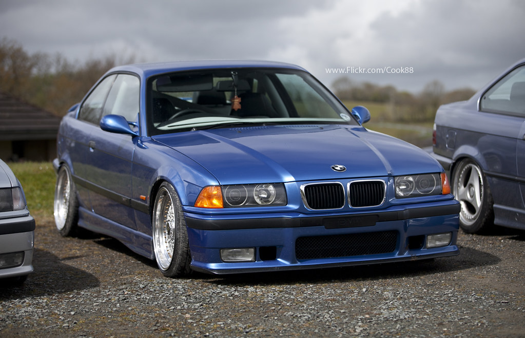 Bmw E36 M3 Evo Bbs Rs Cook24v Flickr