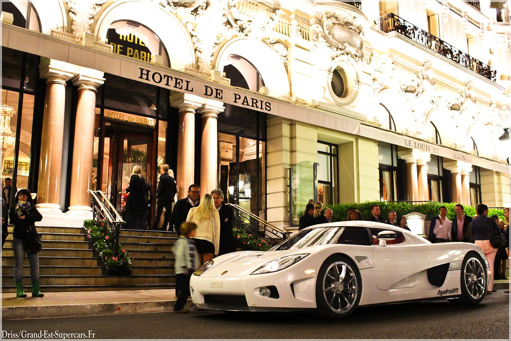Koenigsegg ccx hotel de paris g e supercars flickr for Hotel des bains paris 14e