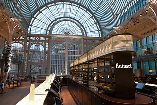 Paul Hamlyn Hall Champagne Bar in the Royal Opera House © Jon Bradley/ROH 2011 | by Royal Opera House Covent Garden