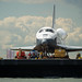 Space Shuttle Enterprise Move to Intrepid (201206060007HQ)