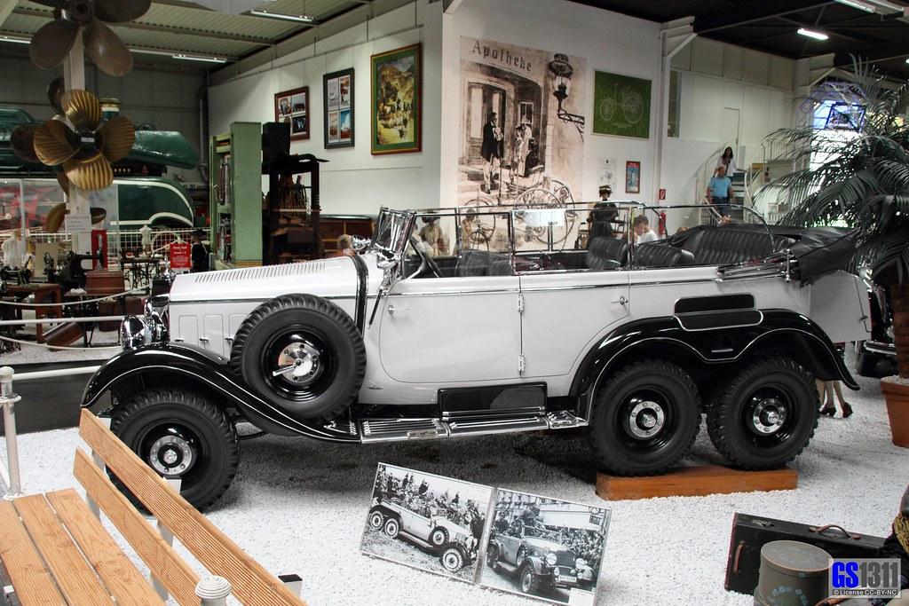 1934 1939 mercedes benz w31 typ g4 the mercedes benz for Mercedes benz of chandler staff