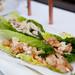 Shrimp in Romaine lettuce cups