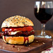 Cabernet Burgers with Everything Buns