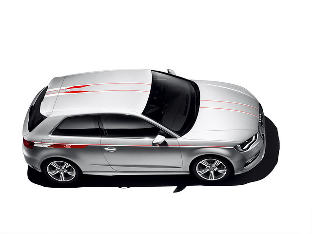 Audi a3 Red Colour Styling Kit