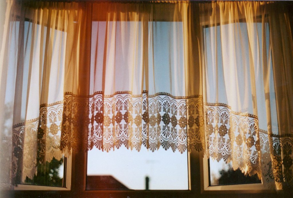Natural Light Filtered Through Heavy Curtains
