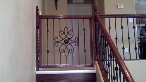 Wood And Iron Baby Gate