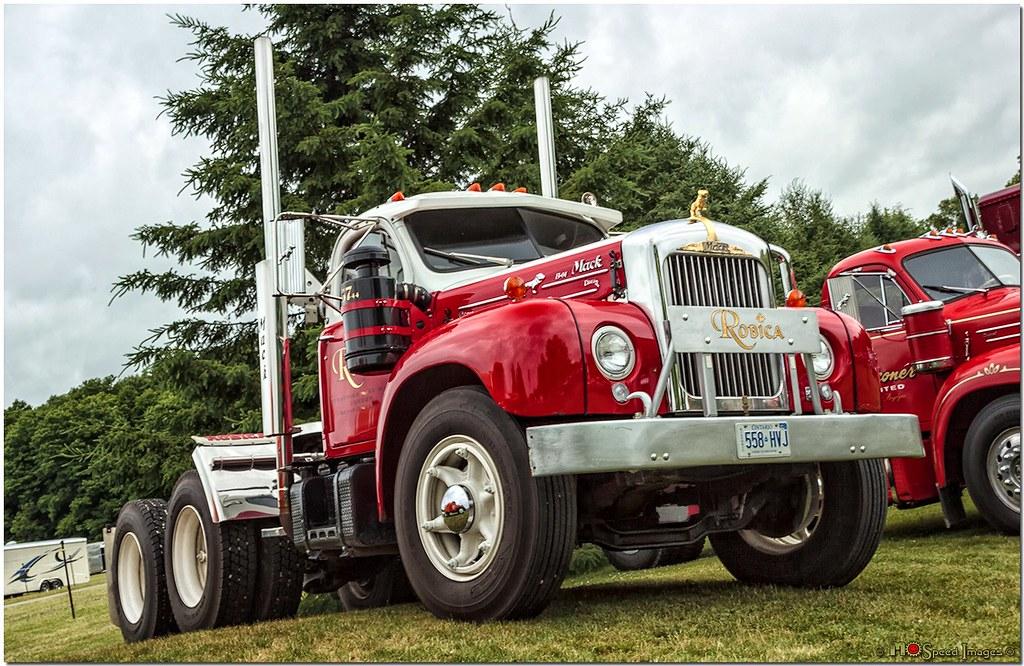 Mack Trucks B61 Models : B model mack photographed the fleetwood