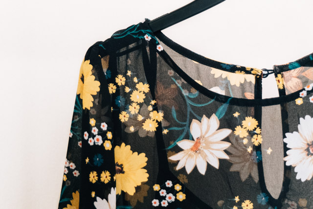 floral dress from new look