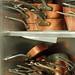 copper pans at Alain Ducasse