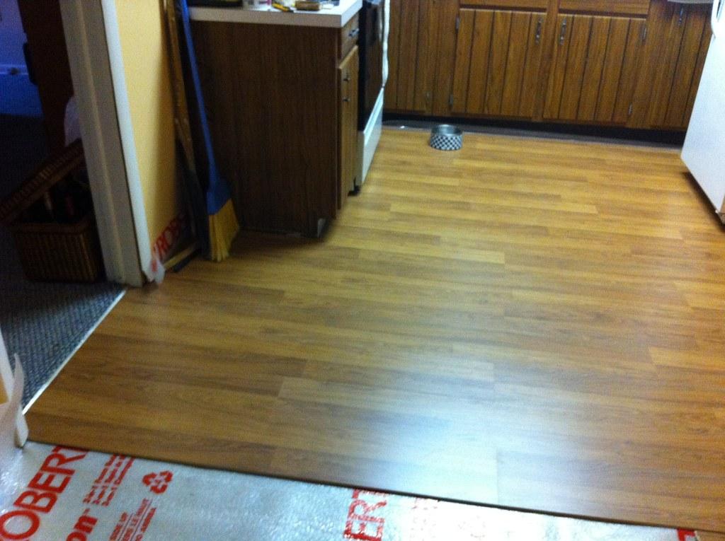 Laminate Flooring Kitchen Island
