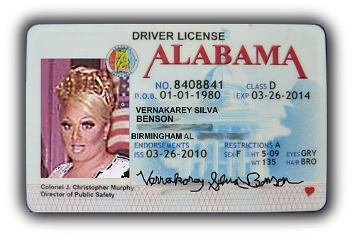 My Future Alabama Driver's License, Though I'd Rather Have ...