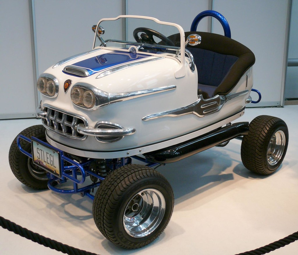 bumper car tom wright gebr der ihle auto scooter 1958 chev flickr. Black Bedroom Furniture Sets. Home Design Ideas