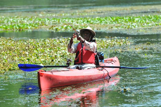 Kayak freshwater fishing flickr photo sharing for Freshwater kayak fishing