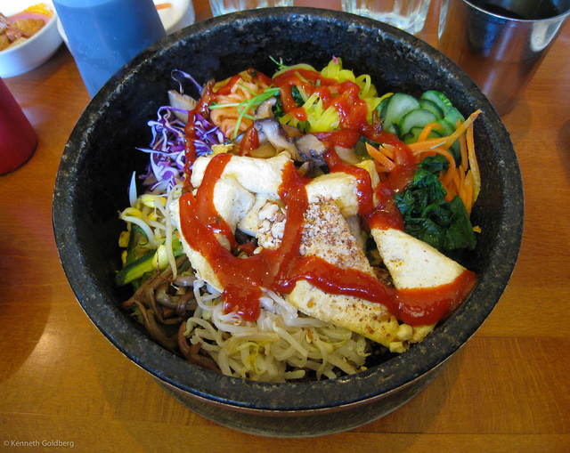 Vegetarian Dolsot Bibimbap 돌솥 비빔밥 at Bowl'd | Flickr - Photo ...