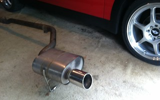 Borla exhaust system for 1st Gen Coopers